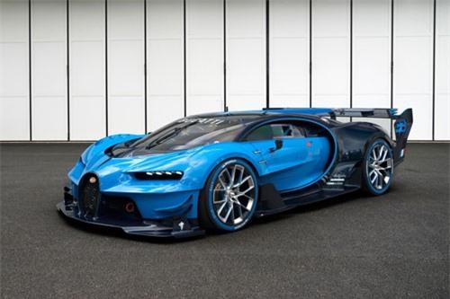 4. Bugatti Vision Gran Turismo Concept 2016 (công suất tối đa: 1.672 mã lực).
