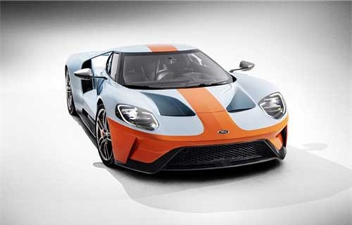 Ford GT 2019 Heritage Edition.