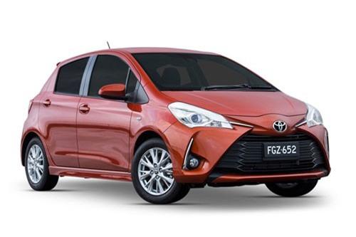 10. Toyota Yaris 2018 (giá khởi điểm: 15.635 USD).