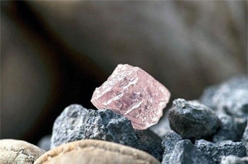 Argyle Pink Jubilee là viên kim cương hồng lớn nhất của Australia, được tìm thấy ở mỏ lộ thiên Argyle. Viên kim cương có trọng lượng 12,76 carat và được định giá ở mức khoảng 10 triệu USD. Ảnh: Vinagems.