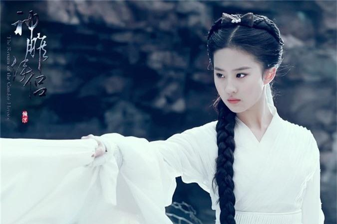Lưu Diệc Phi trong tạp hình Tiểu Long Nữ xinh đẹp đầy khí chất