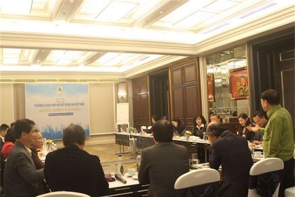 Toàn cảnh Hội nghị Thường vụ BCH Hiệp hội Bất động sản Việt Nam