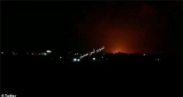 Các cuộc giao tranh dữ dội ở Gaza ngày 11/11. (Ảnh: Twitter)
