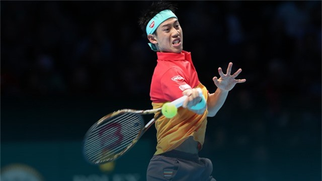 Nishikori gây bất ngờ trước Federer tại ATP Finals 2018 - Ảnh 1.