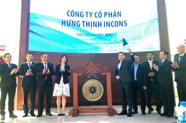 Cổ phiếu của CTCP Hưng Thịnh Incons chính thức niêm yết trên sàn HOSE với mã HTN