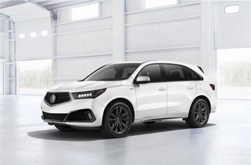 1. Acura MDX 2019 (giá khởi điểm: 44.200 USD).