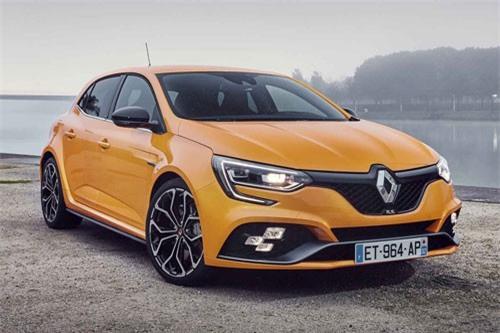 10. Renault Megane (doanh số: 3.000 chiếc).