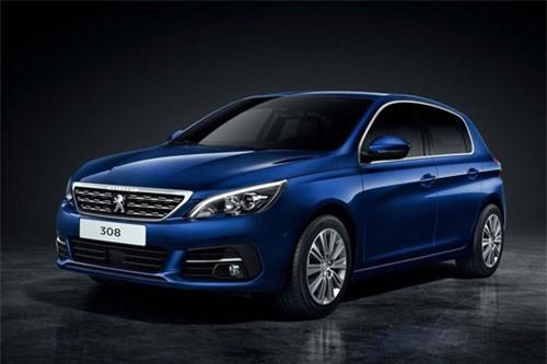 5. Peugeot 308 (doanh số: 6.166 chiếc).
