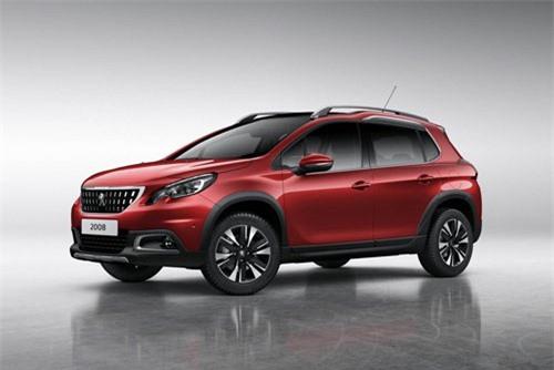 7. Peugeot 2008 (doanh số: 5.427 chiếc).
