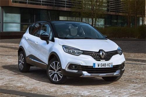 8. Renault Captur (doanh số: 4.614 chiếc).