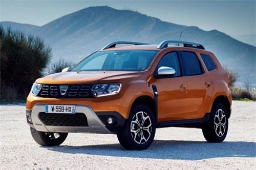 9. Dacia Duster (doanh số: 3.357 chiếc).