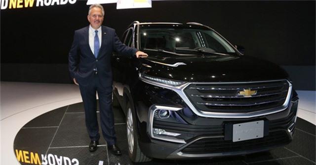 Chevrolet Captiva bất ngờ ra mắt thế hệ thứ 2: Xe Trung Quốc gắn mác Mỹ - Ảnh 1.