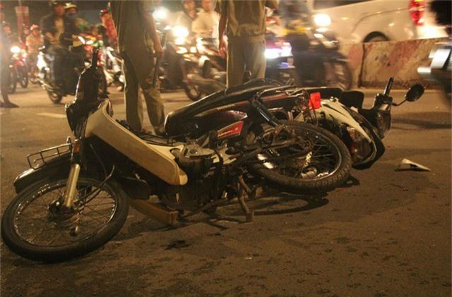 Nhiều xe máy của nạn nhân hư hỏng