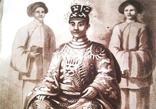 Vua Minh Mạng.