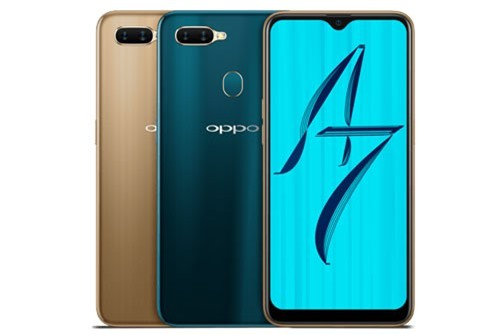 Oppo A7.
