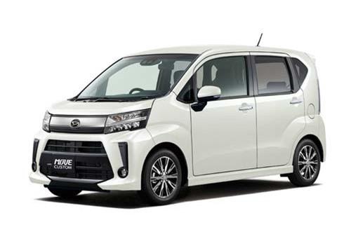 2. Daihatsu Move (doanh số: 11.820 chiếc).