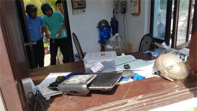 Đồ đạc hư hỏng của Công ty CP Cấp nước Thừa Thiên Huế