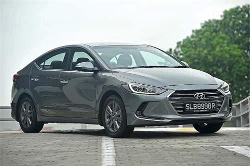 3. Hyundai (doanh số: 592 chiếc).