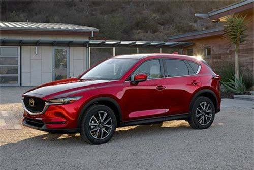 5. Mazda (doanh số: 455 chiếc).