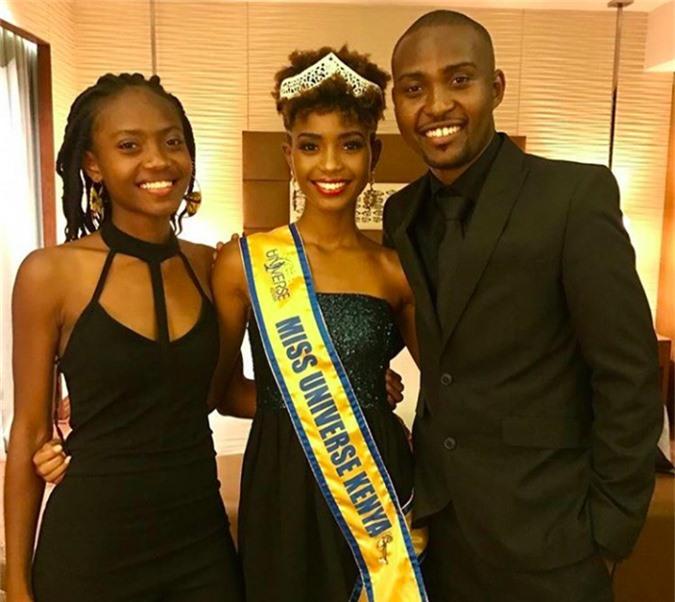 Nhan sắc đối thủ da đen, tóc tém giống HHen Niê tại Miss Universe - 3