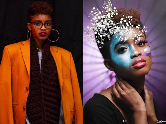 Nhan sắc đối thủ da đen, tóc tém giống HHen Niê tại Miss Universe - 4