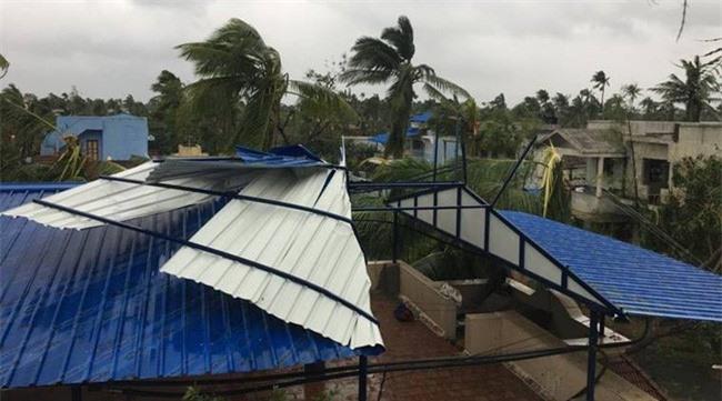 Bão Gaja tác động trực tiếp tới bang Tamil Nadu. (Ảnh: Indianexpress)