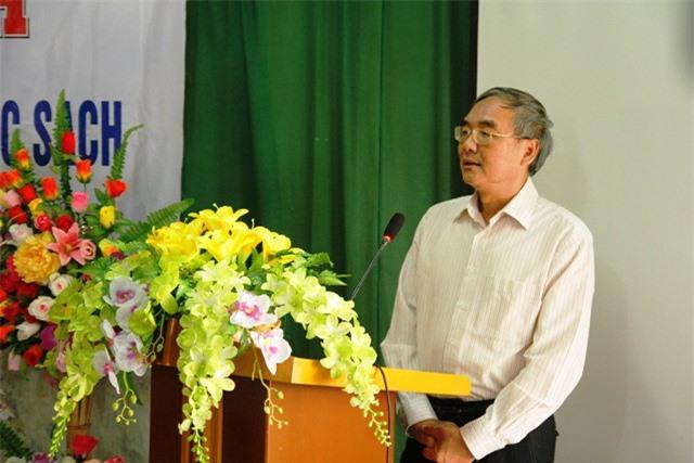 GS.TSKH Nguyễn Đình Công, Phó Chủ tịch Viện Hàn lâm Khoa học và Công nghệ Việt Nam phát biểu tại lễ khánh thành.