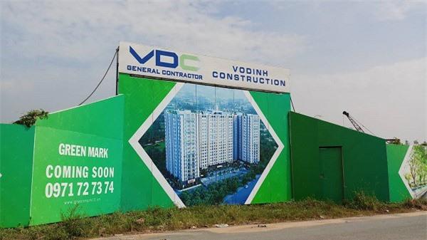 Dự án Green Mark nằm trên đường Lê Thị Riêng (phường Thới An, quận 12, TP. HCM