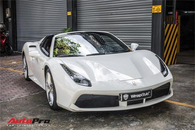 Dàn siêu xe Ferrari rủ nhau đi làm đẹp tại Sài Gòn - Ảnh 12.