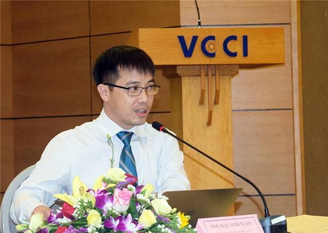 Ông Đậu Anh Tuấn - Trưởng ban pháp chế (thuộc Phòng Thương mại và Công nghiệp Việt Nam - VCCI)