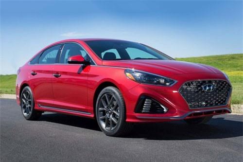 4. Hyundai Sonata 2019 (giá khởi điểm: 23.185 USD).