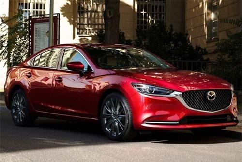 6. Mazda 6 2019 (chưa công bố giá bán).