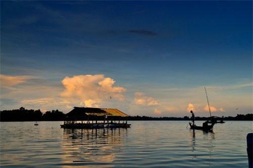 Đây còn là điểm du lịch hấp dẫn ở An Giang. Ảnh: Diem Dang Dung.