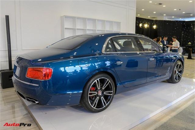 Bentley Flying Spur V8 S gần 17 tỷ đồng ra mắt tại Việt Nam - Ảnh 4.