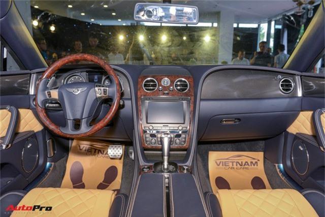 Bentley Flying Spur V8 S gần 17 tỷ đồng ra mắt tại Việt Nam - Ảnh 9.