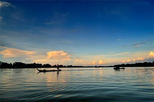 Búng có diện tích mặt nước trung bình là 193 ha. Ảnh: Diem Dang Dung.