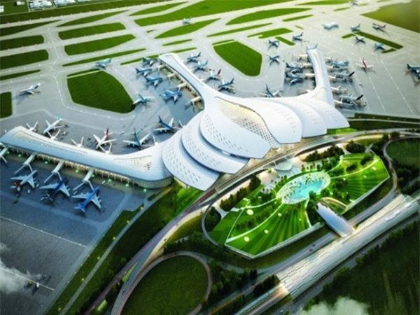 Phối cảnh Cảng hàng không quốc tế Long Thành
