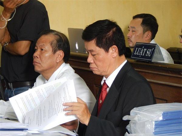 Đại diện Vinasun tại phiên tòa sáng 22/11 (Ảnh: ĐL)