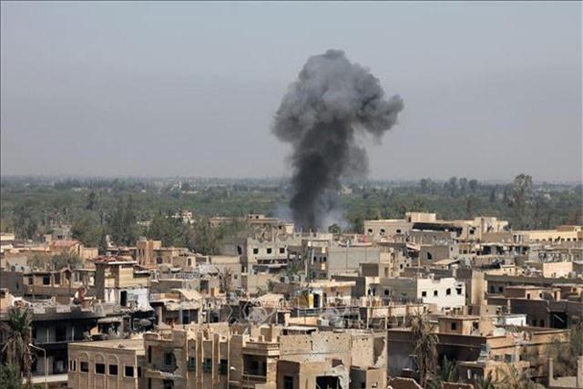 Quân đội Iraq đã tiêu diệt nhiều IS trong 2 cuộc không kích.