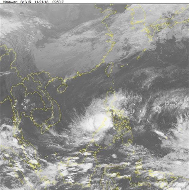 Bão số 9 áp sát Biển Đông, không khí lạnh về kéo nhiệt độ xuống 16 độ-2