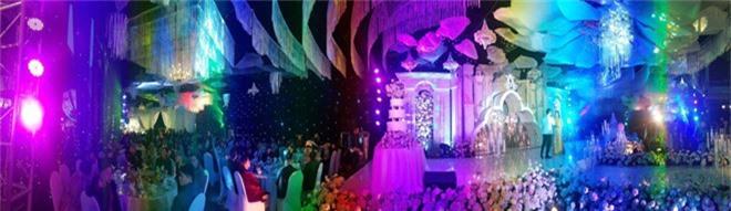 Hé lộ chi phí dựng rạp thực tế cùng hình ảnh cô dâu đeo vàng nặng trĩu trong đám cưới khủng ở Cao Bằng - Ảnh 1.
