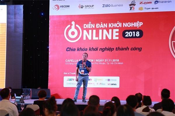 Ông Lê Thanh Nhàn phát biểu tại diễn đàn (Ảnh: ĐL)