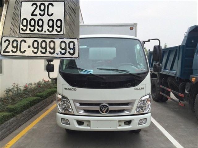 Cuối tháng 9 vừa qua, cộng đồng mạng được phen xôn xao về thông tin chủ nhân một chiếc xe tải hiệu Thaco may mắn bốc được biển ngũ quý 9 siêu khủng 29C-999.99.