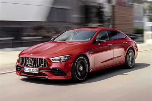 6. Mercedes-AMG GT 43 4MATIC Coupe 2019.