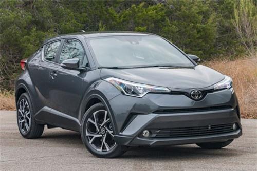 10. Toyota C-HR 2018 (giá khởi điểm: 22.500 USD).