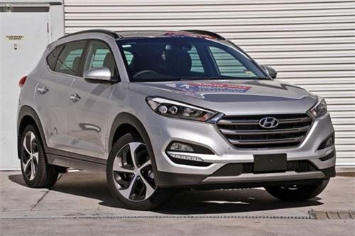 7. Hyundai Tucson 2018 (giá khởi điểm: 22.550 USD).