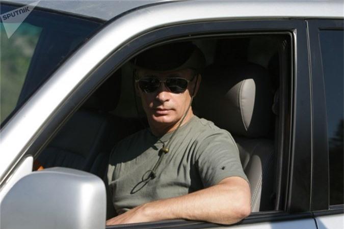 Tổng thống Putin trong chuyến du lịch nghỉ dưỡng tại Tuva, Siberia (Ngày 3 tháng 8 năm 2019).