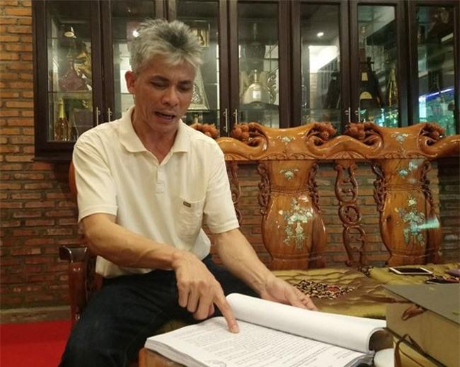 Ông Trương Văn Quang, Tổng Giám đốc Công ty Phúc Hậu (Khánh Hòa), cho biết dù doanh nghiệp tha thiết muốn đóng tiền sử dụng đất để làm dự án nhưng tỉnh... cương quyết không cho (ảnh TL)