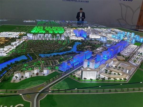 Các đại biểu thăm mô hình Thành phố thông minh Bình Dương tại Diễn đàn Horasis Châu Á 2018