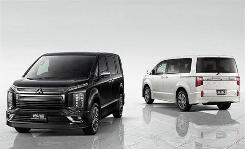 """Cận cảnh minivan """"lai"""" SUV cực độc Mitsubishi Delica 2019. Có thể coi là"""
